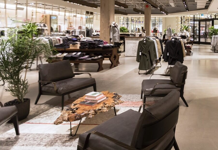 The New Aritzia Kingsway Mall