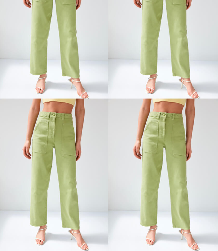 e109b1958a46 HIGH-WAISTED PANTS Always flattering, loves a short shirt. Shop High-Waisted
