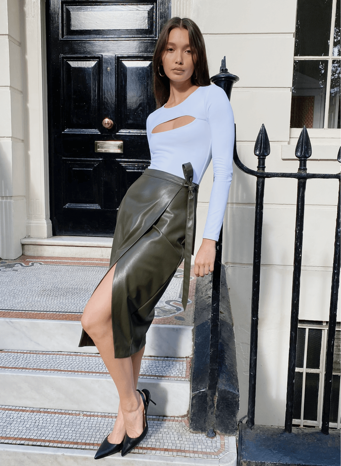 Babaton - Pelli Skirt