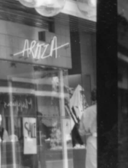 Vintage Aritzia storefront
