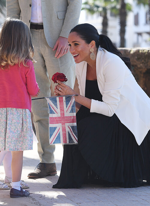 Meghan Markle wearing the Keith Jacket