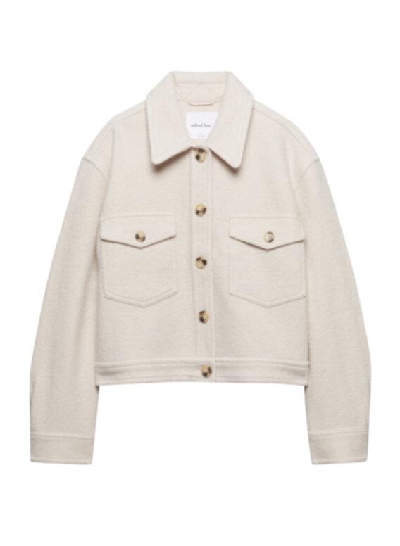The Ganna Cropped  Shirt Jacket