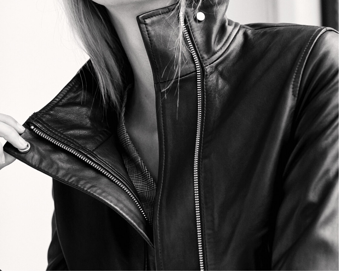 Beautiful leather. Perfectly tailored.