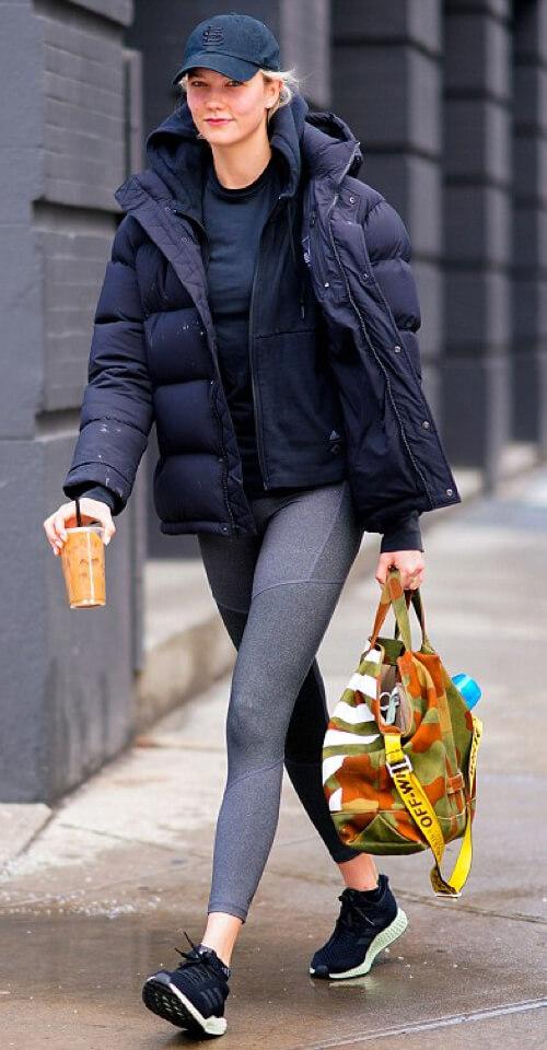 Karlie Kloss in The Original Super Puff in Black