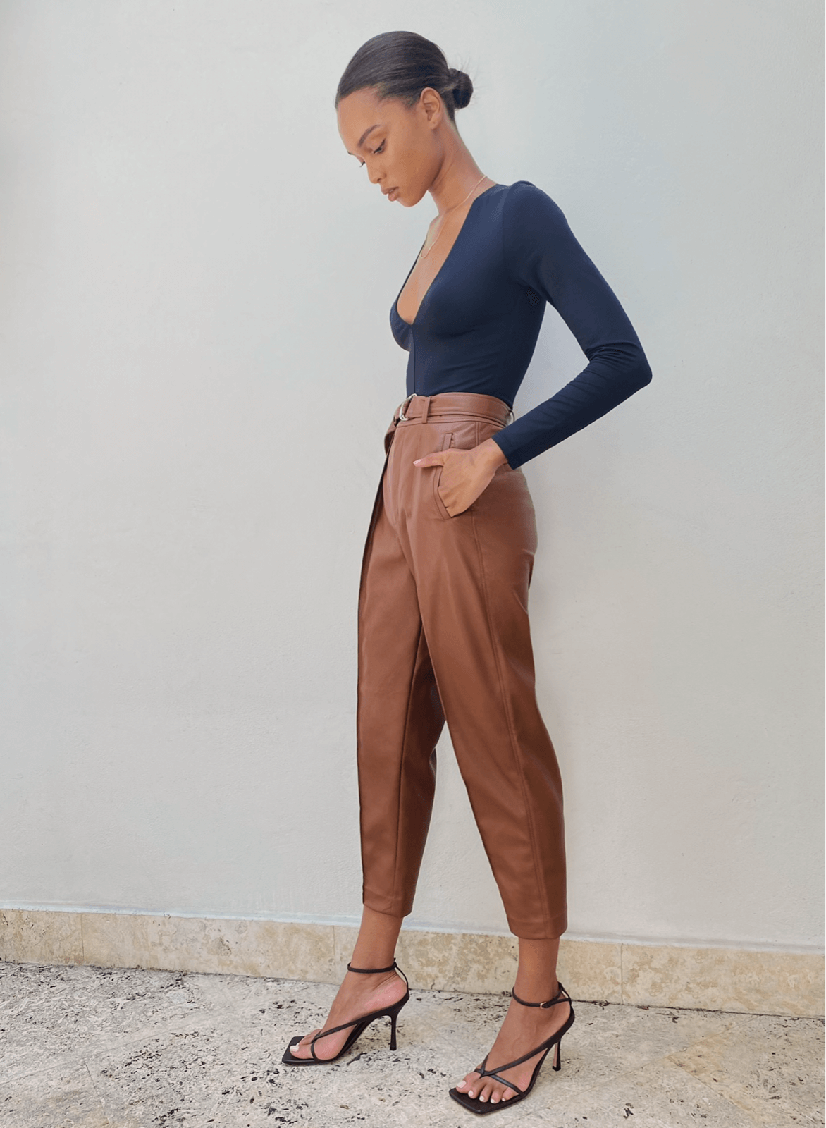 Wilfred - Vegan Leather Trouser Pant
