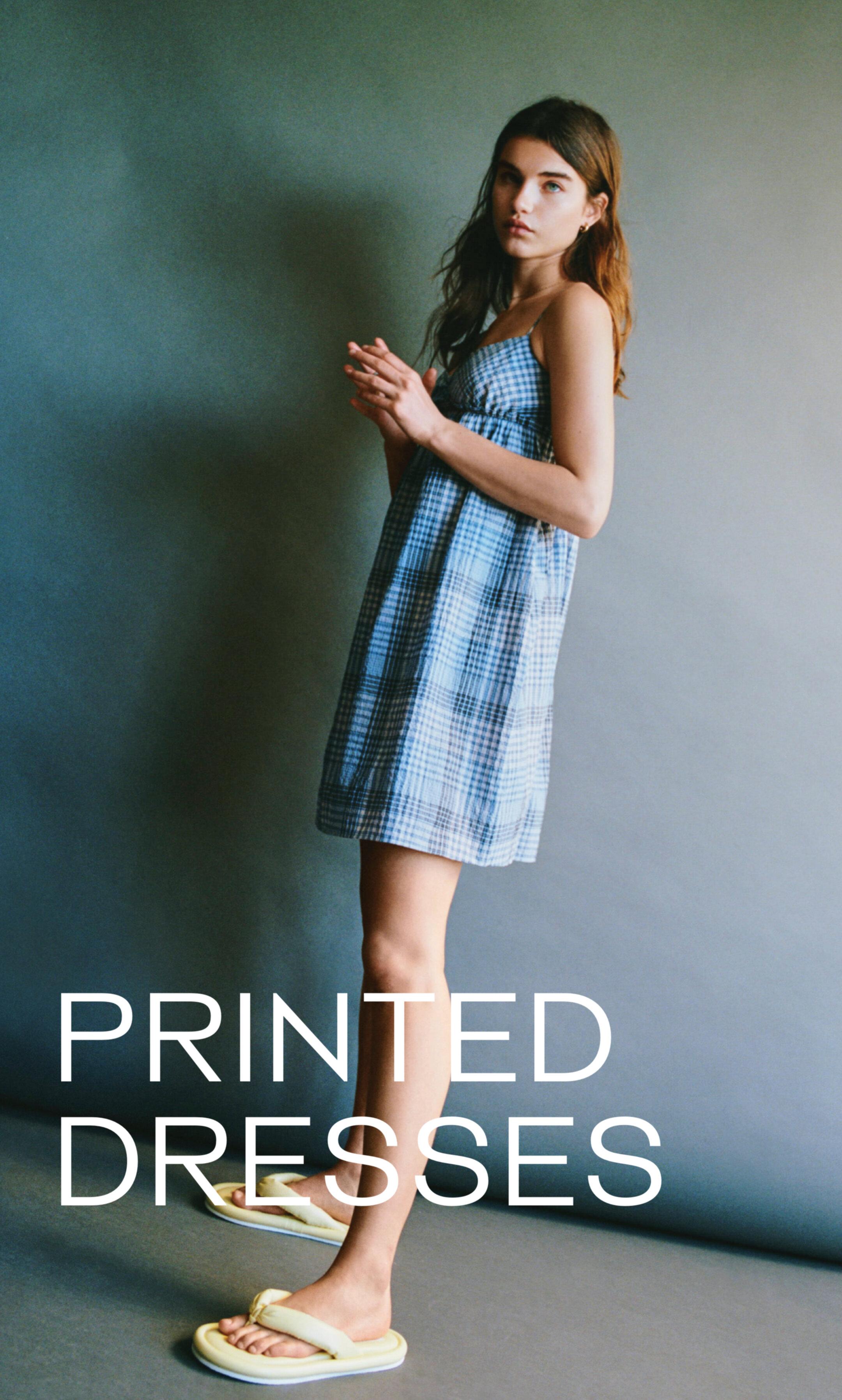 Printed Dresses Story 1