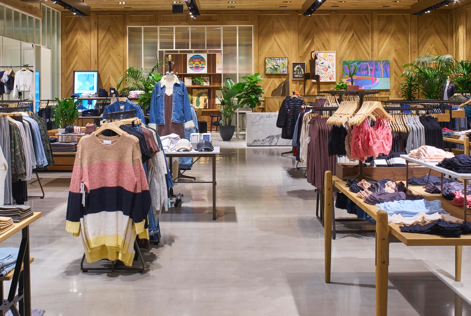 New Balance magasin de chaussures South Coast Plaza